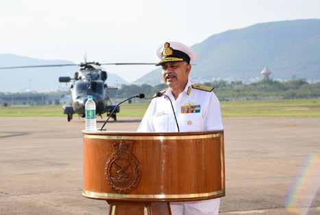 Page 22 of Advanced Light Helicopters Inducted at INS Dega