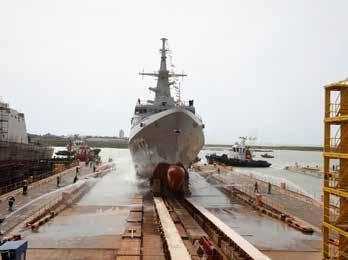 Page 12 of Navantia launches 3rd corvette for Saudi Navy