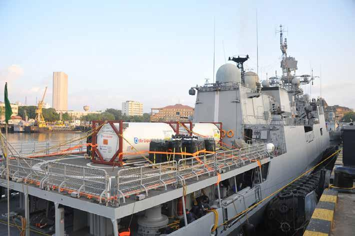 Page 6 of Indian Navy saves lives during oxygen crisis, Cyclone Tauktae