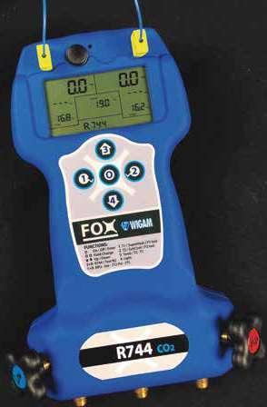 Page 82 of Analizador digital FOX (R744) 4 vías con sondas Analizadores, manómetros,