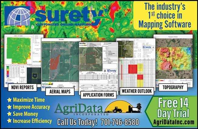 Page 7 of Agriculture Based Online Mapping Provided by Surety® and Surety®