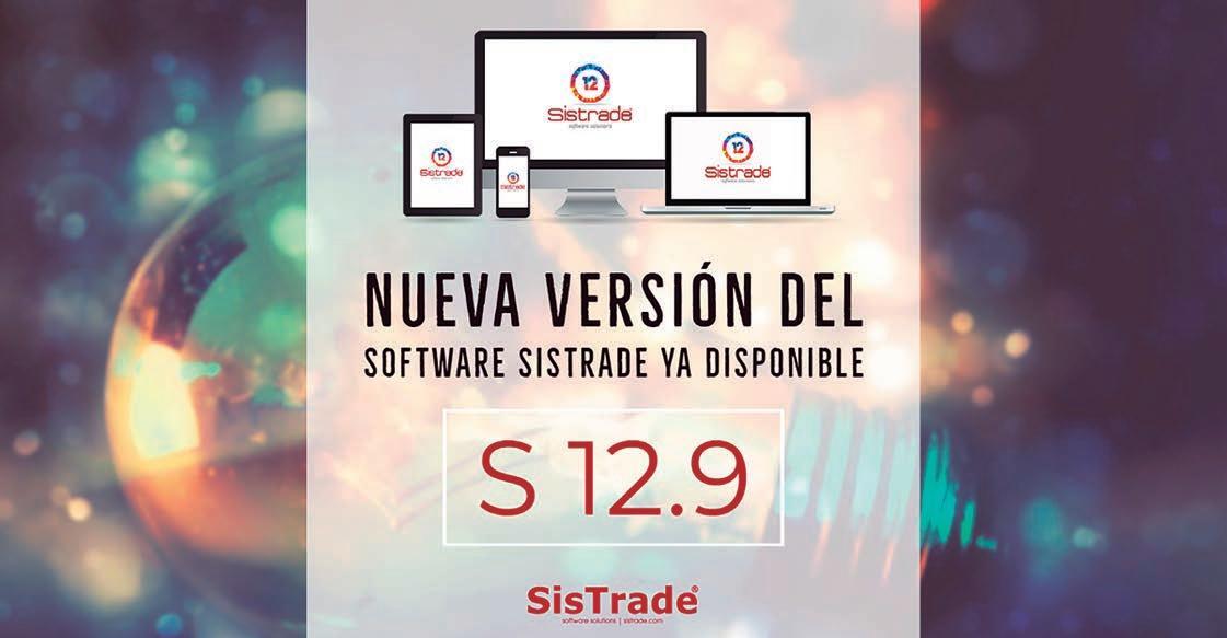 Page 28 of Sistrade presenta la nueva versión 12.9 de su software