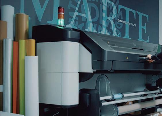Page 43 of Marte Impresores se convierte en uno de los primeros usuarios de HP Latex 800 W