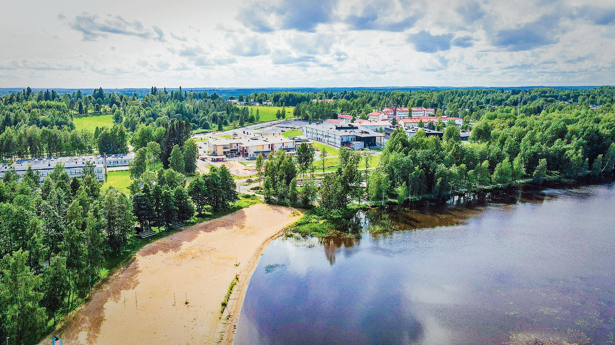 Page 34 of Hiekanpään puisto kutsuu liikkumaan