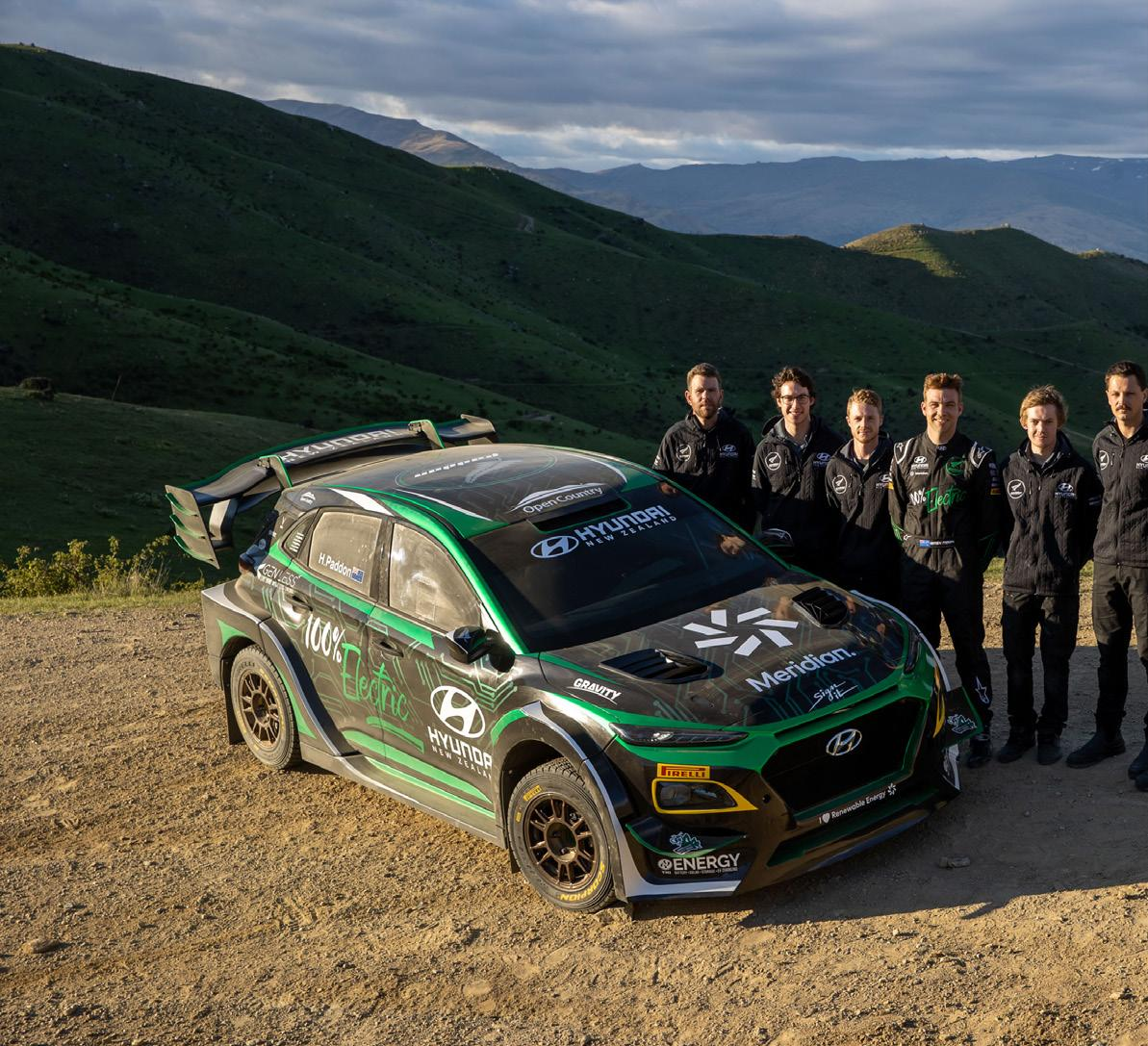 Page 14 of Hayden Paddon and the first electric rally car in the world!