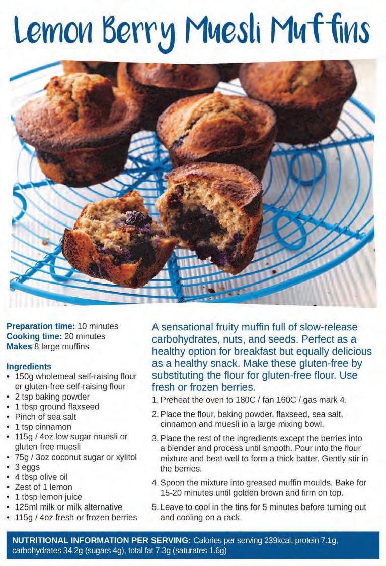 Page 16 of Cake and Bake: Lemon Berry Muesli Muffins