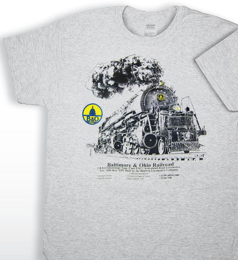 Page 20 of Railroad T-Shirts