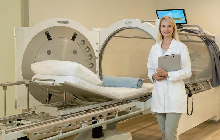 Page 9 of Business Spotlight: State of the Art Hyperbaric Oxygen Clinic Now Treating Patients in Carmel