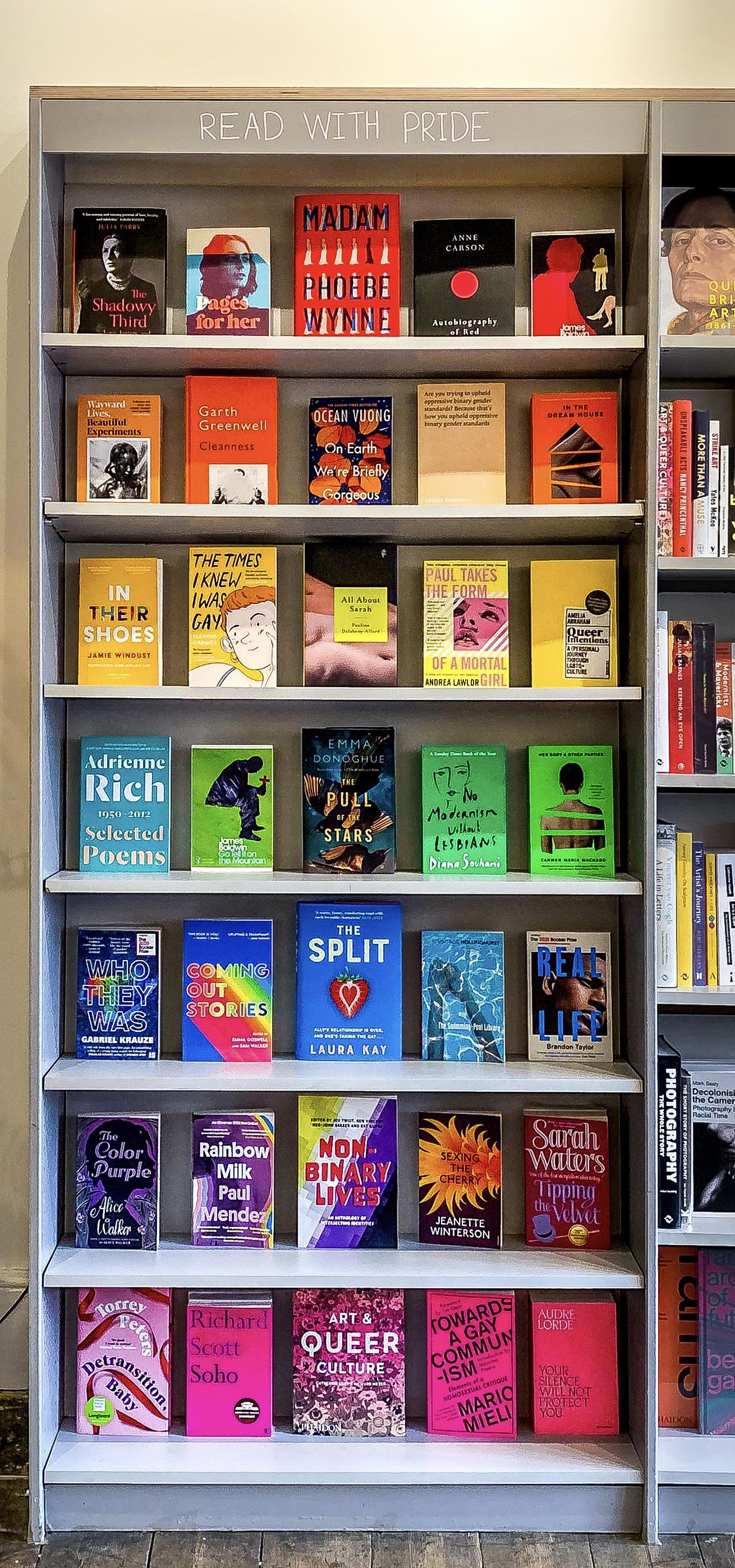 Page 10 of Read with Pride – Harbour Books shares the LGBTQI+ voices at the centre of its shelves