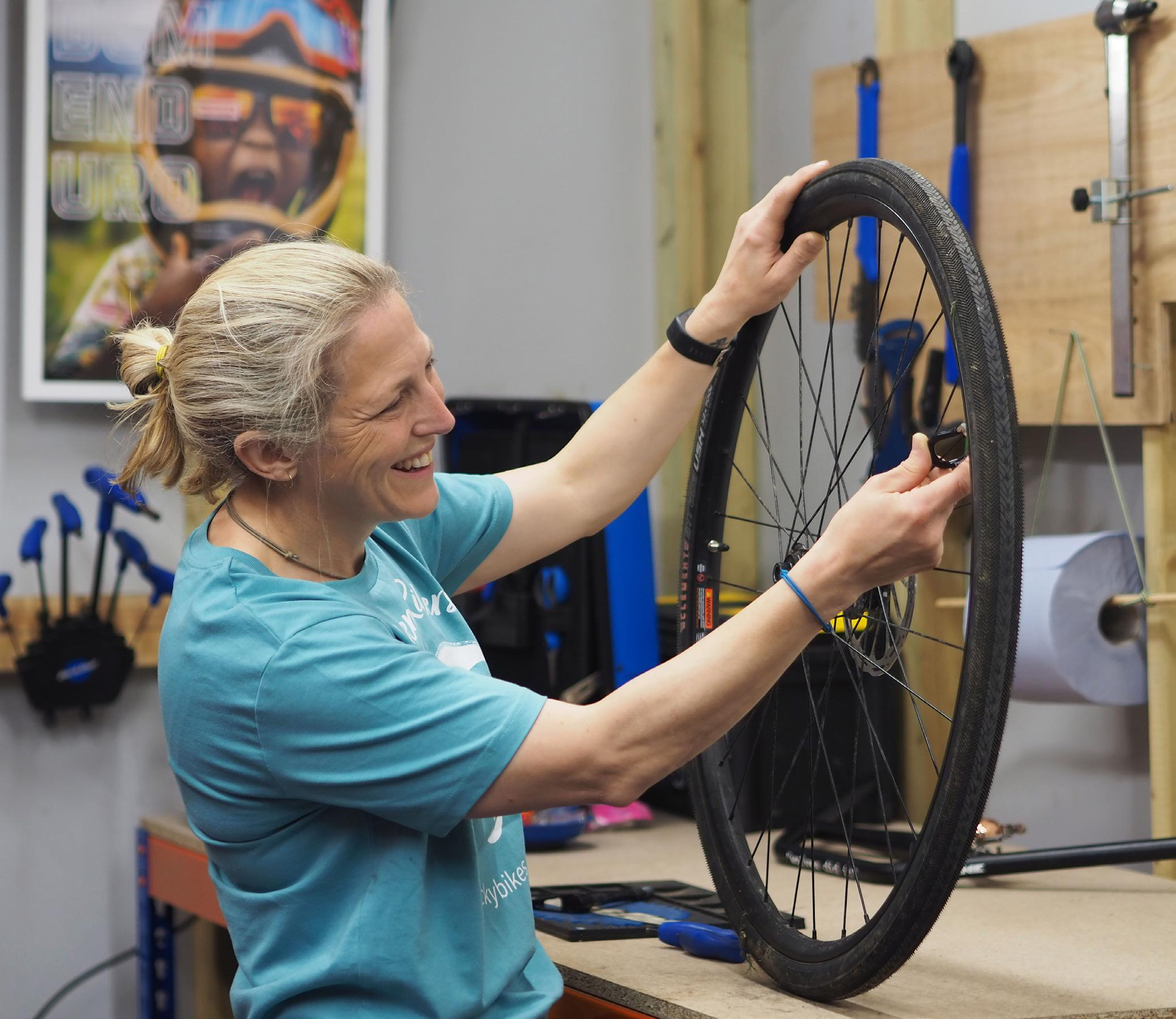 Page 8 of Riding high – how one PR-turned bike mechanic is getting our community back in the saddle