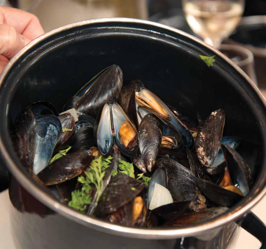Page 18 of In My Glass Mussels and Muscadet