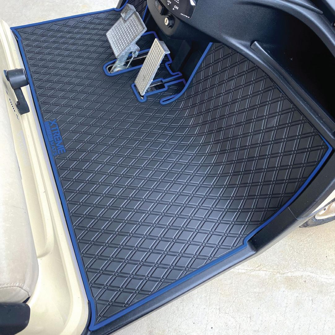Page 12 of XTREME MATS EXPANDS THEIR OFFERING OF FULL COVERAGE GOLF CART FLOOR MATS