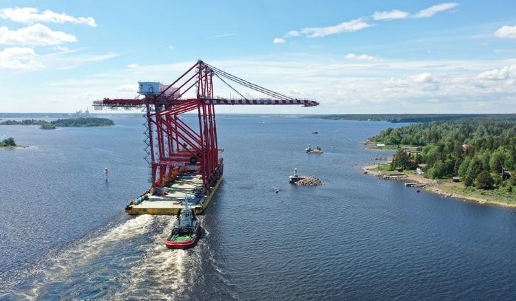 Page 22 of Containerkranar anlände till Gävle containerterminal