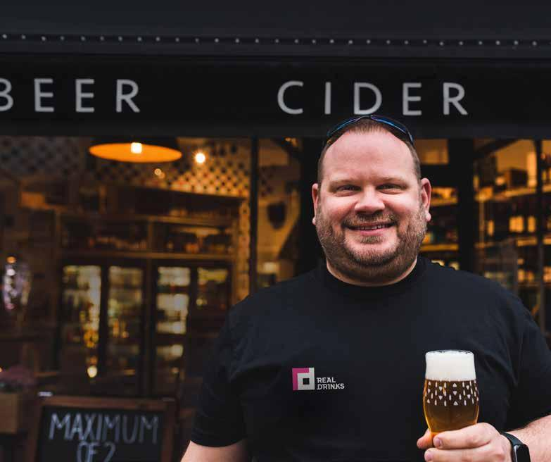 Page 34 of Meet the retailer Nick Dolan from Real Drinks talks us through 16 years in independent beer retailing