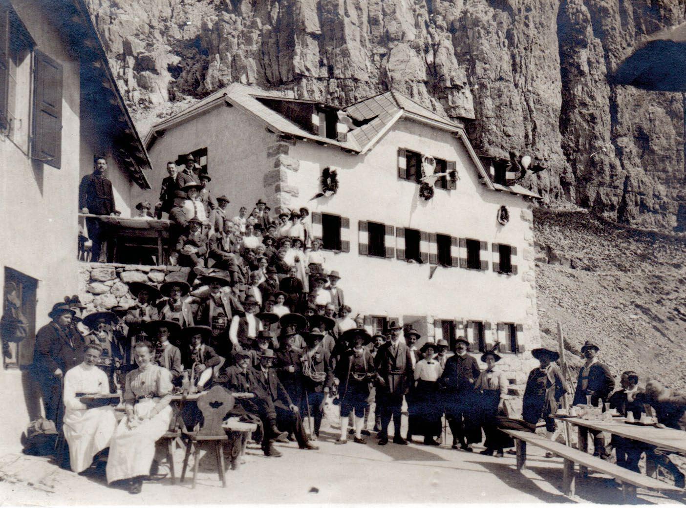 Page 20 of die Kölner Hütte im Rosengarten