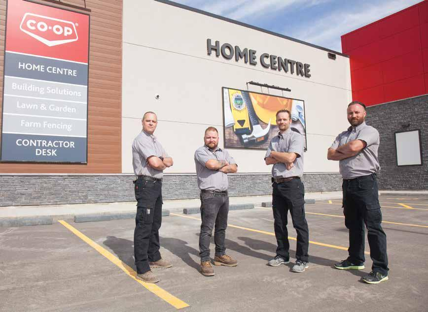 Page 30 of COVER FEATURE Building Up – Prairie Sky Co-op Home Centre is Bigger and Better than Ever