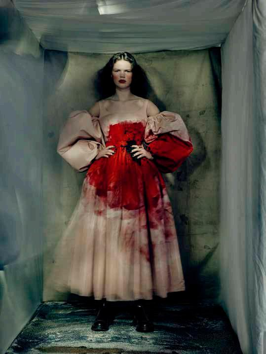 Page 62 of Alexander Mcqueen Womenswear Aw21 - Paolo Roversi Images - Collection Notes