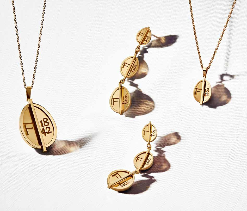 Page 48 of Fabergé Debuts The 1842 Collection56. Introducing 'Stargazing', An Ethical And Sustainable Fine Jewellery Collection By Reem & Natalya Kanj X Fyne 68. Level Up Your Look With Fullord Accessories 88. Presenting The Aurora Collection By Nina Runsdorf 112. Tiffany & Co. Unveils Three New Global House Ambas- sadors