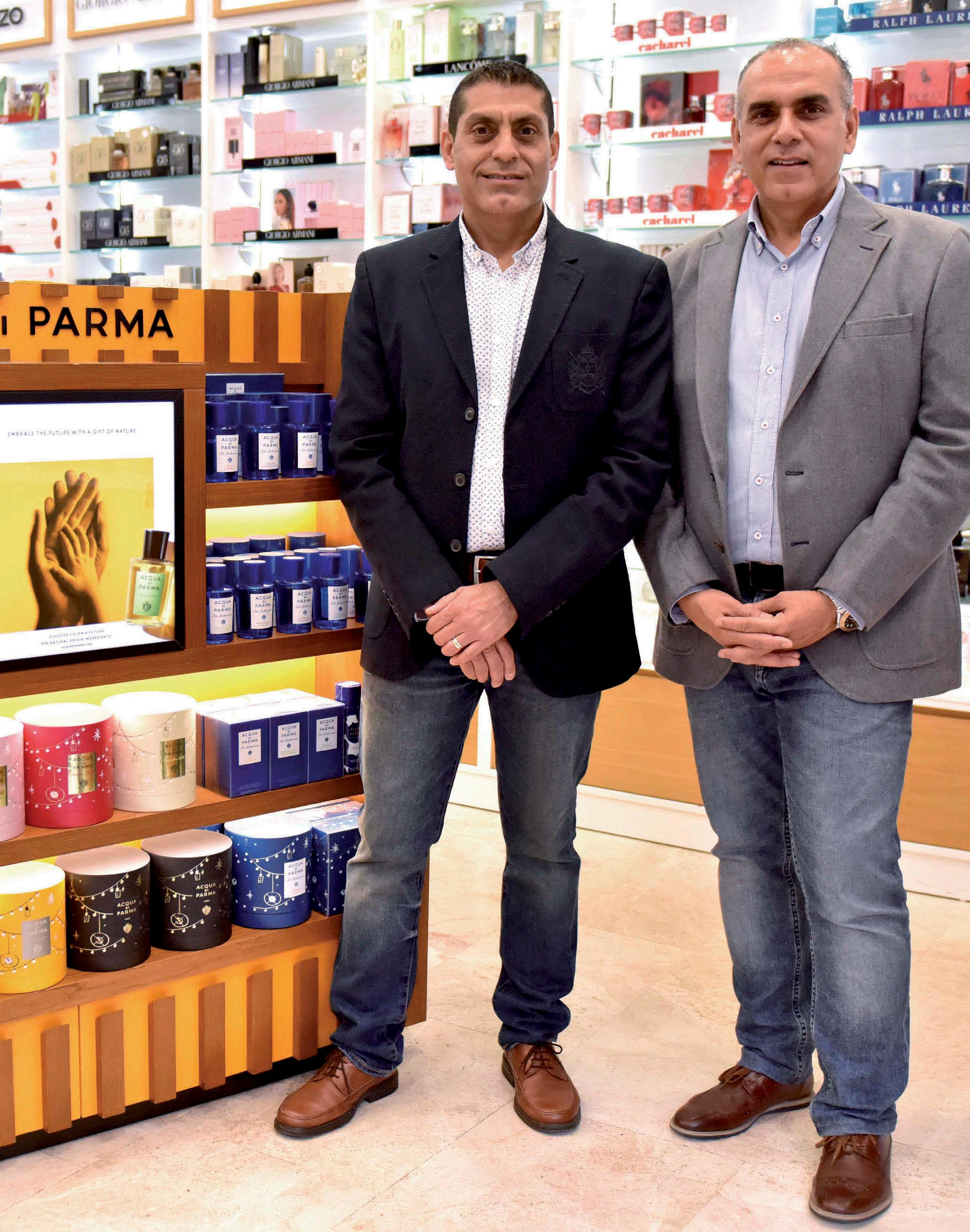 Page 6 of Sunil y Anil Shamdasani de Perfumerías Arkay