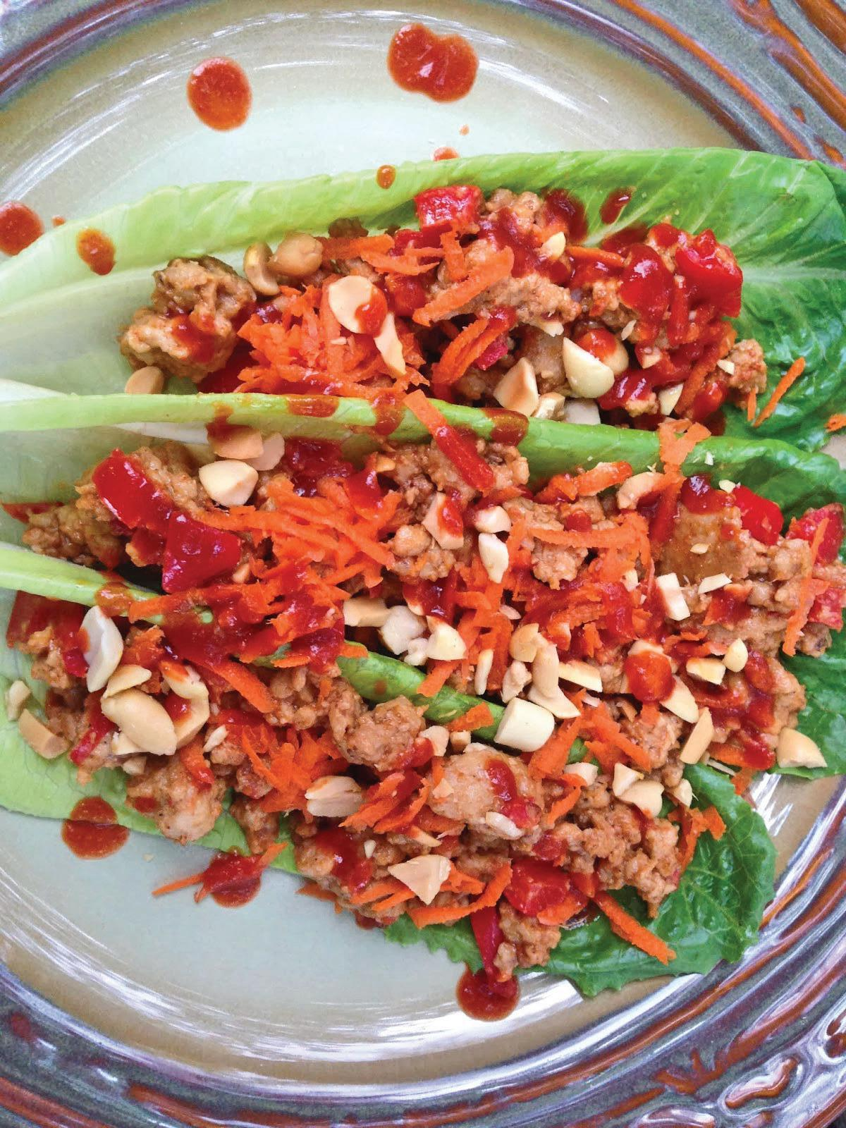Page 62 of Asian Chicken Lettuce Wraps