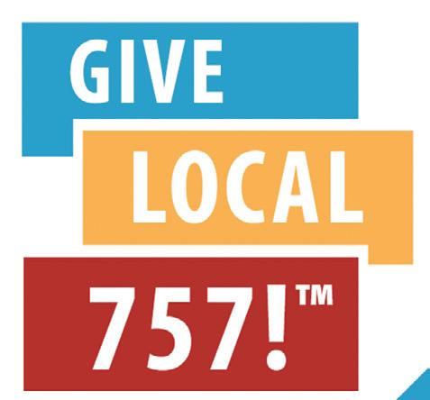 """Page 20 of Give Local 757 """"Thank You"""""""