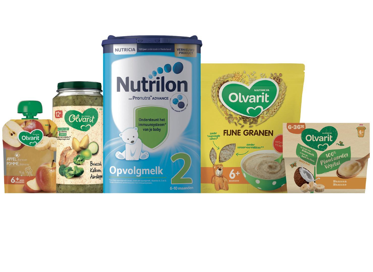 Page 6 of Nutricia: aandacht voor gezondheid van mens en planeet