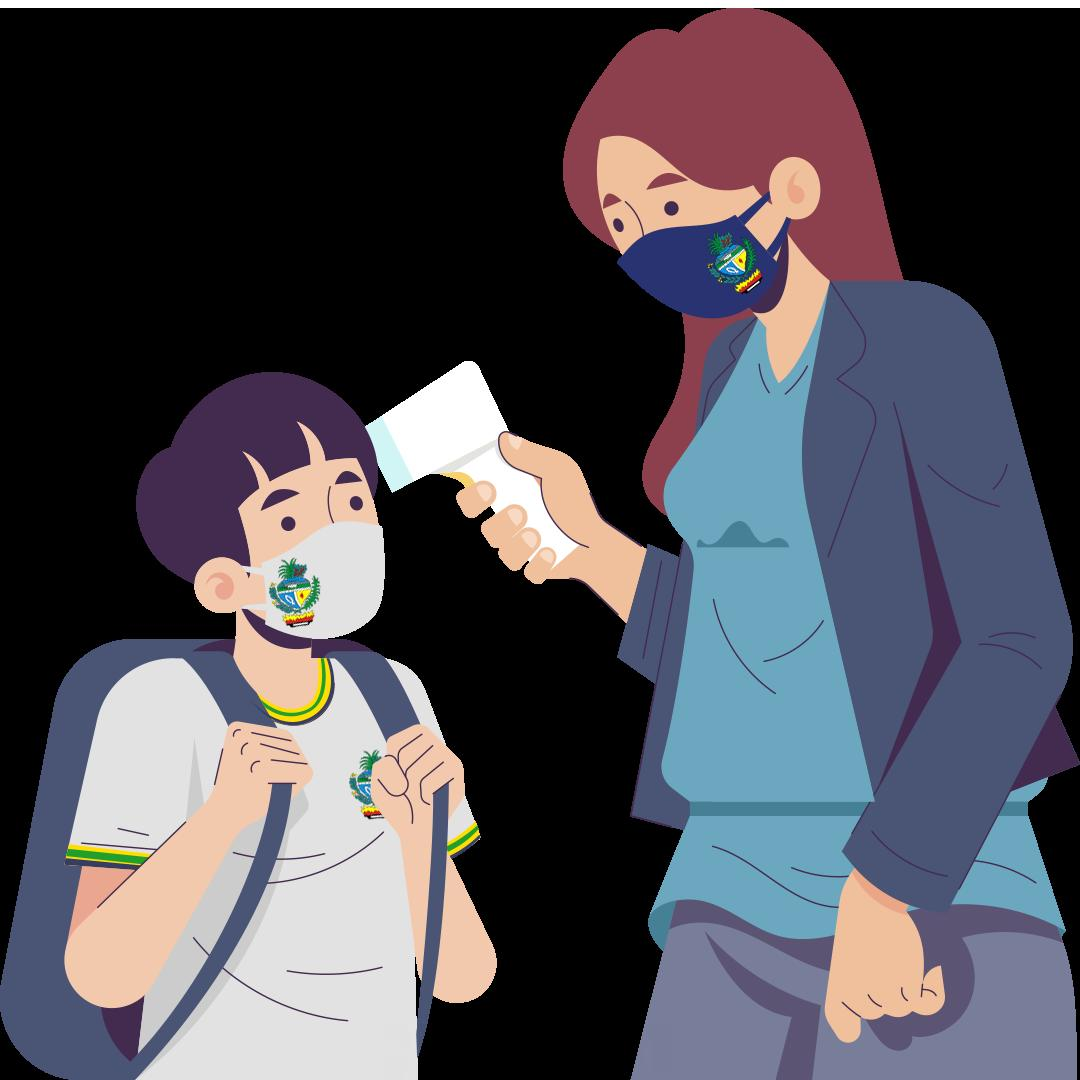 story from: Guia de Implementação do Protocolo de Biossegurança e Medidas Pedagógicas para Retorno às Atividades
