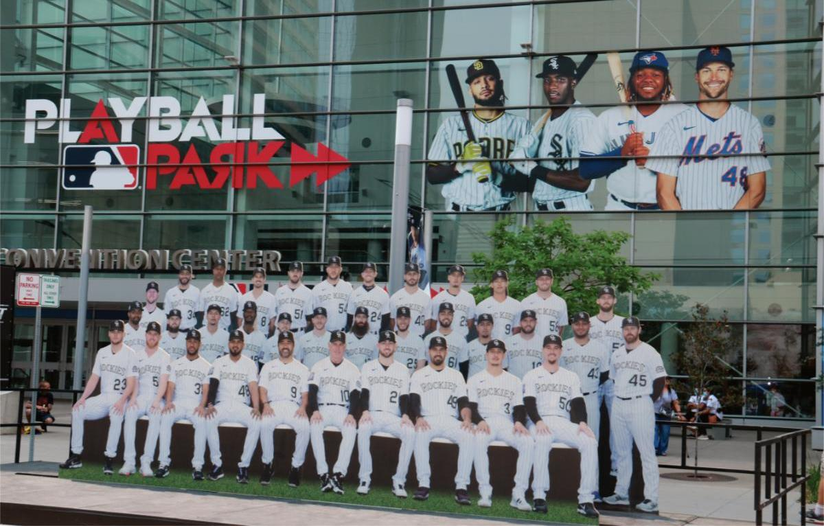 Page 8 of Major League Baseball's All-Star Denver Weekend