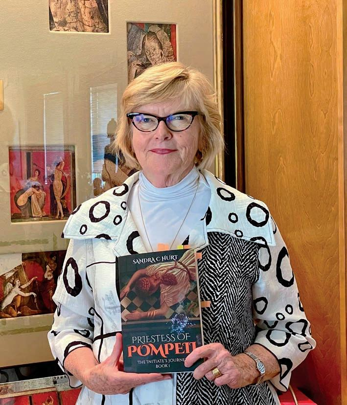 Page 24 of Carmel Author Sandra Hurt Unearths a Spirit From Pompeii in Her First Novel