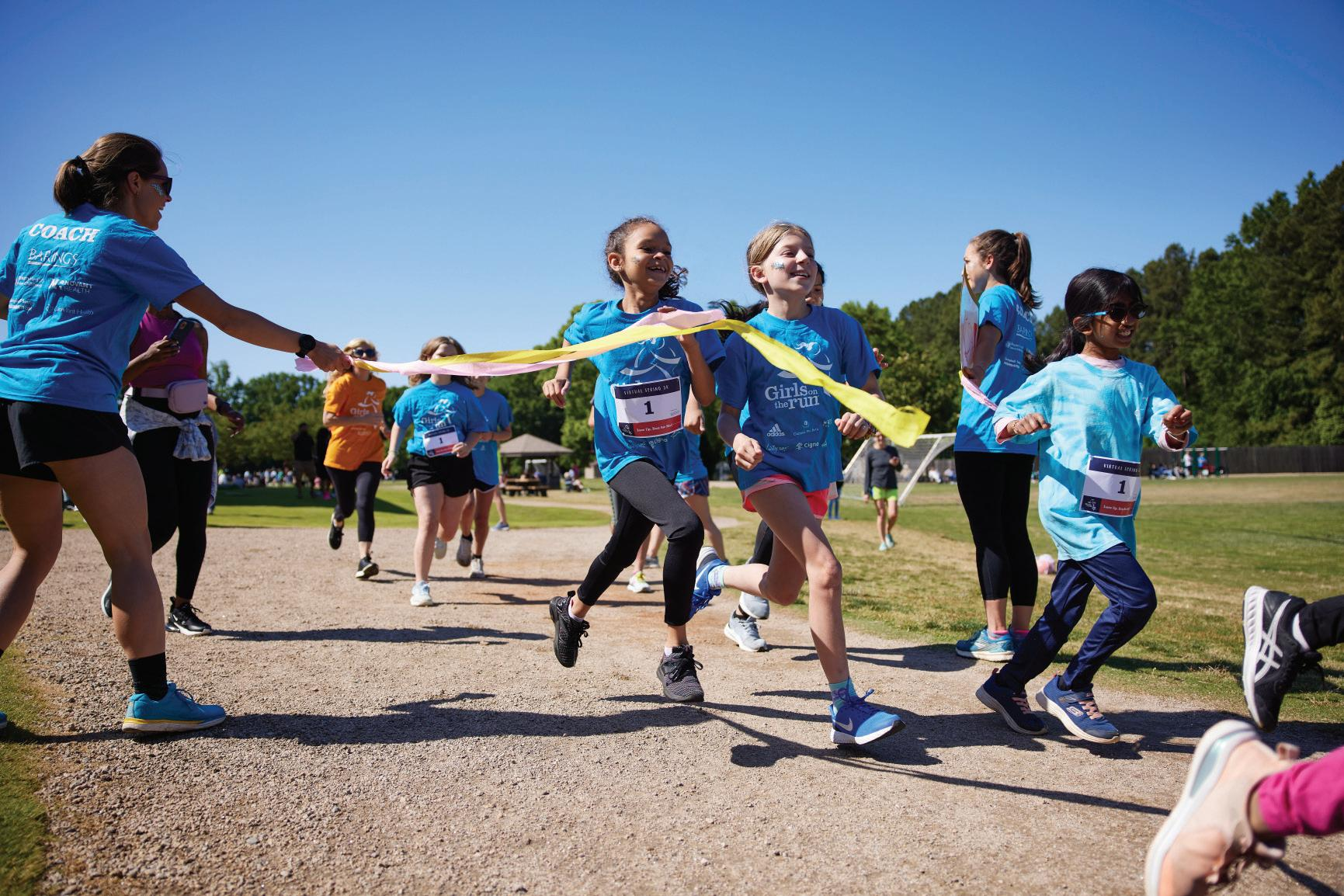 Page 8 of Step By Step, Girls on the Run Helps with Return to Normalcy