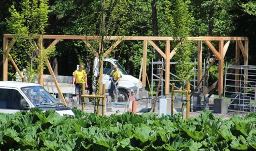 Page 9 of Trwa budowa tężni w supraskim Parku Miejskim W Sobolewie rozpoczęła się budowa