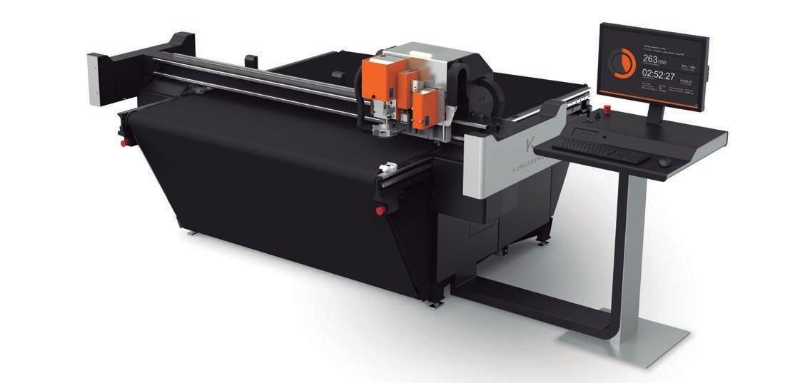 Page 44 of Kongsberg C20 es la mesa de producción en alta velocidad más pequeña del mercado