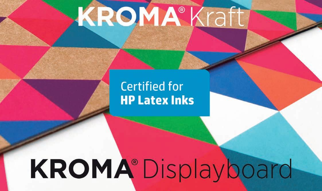 Page 42 of KROMA® y KROMA® Kraft: Certificados para la serie de impresoras HP Latex R