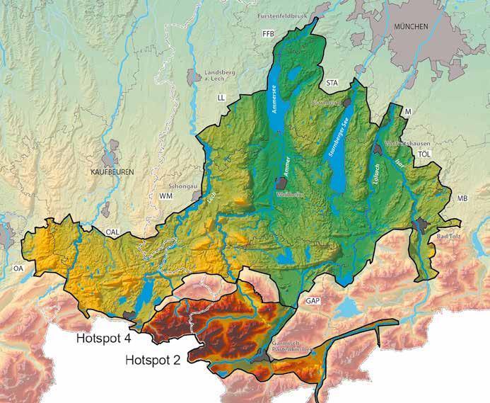 """Page 28 of alpenflusslandschaften – vielfalt leBen von ammersee Bis ZuGspitZe"""""""