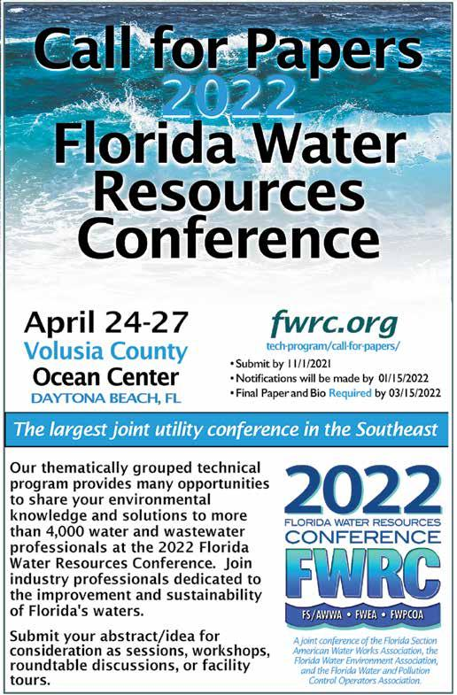 Page 11 of 2022 Florida Water Resources Conference Call for Papers