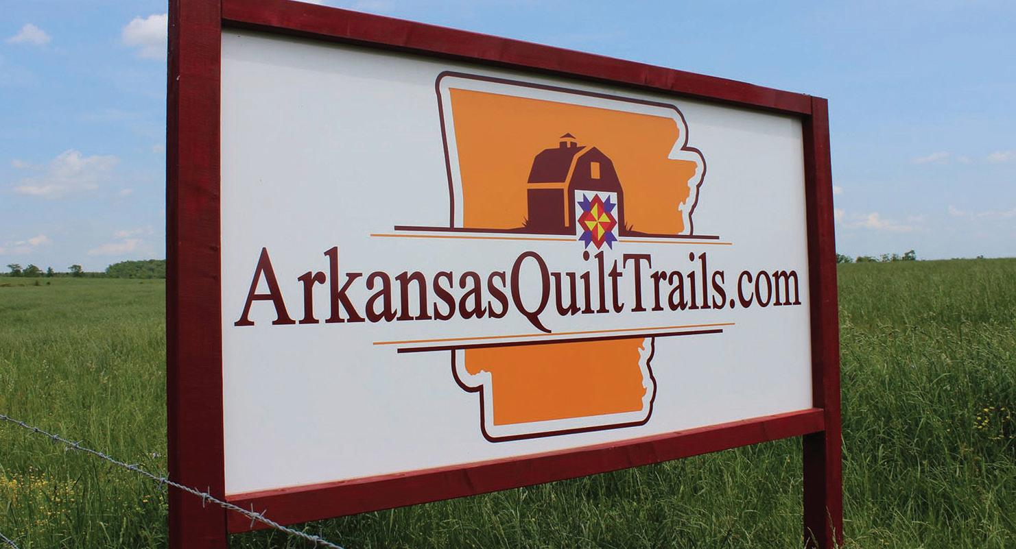 Page 28 of Following the Arkansas Quilt Trail