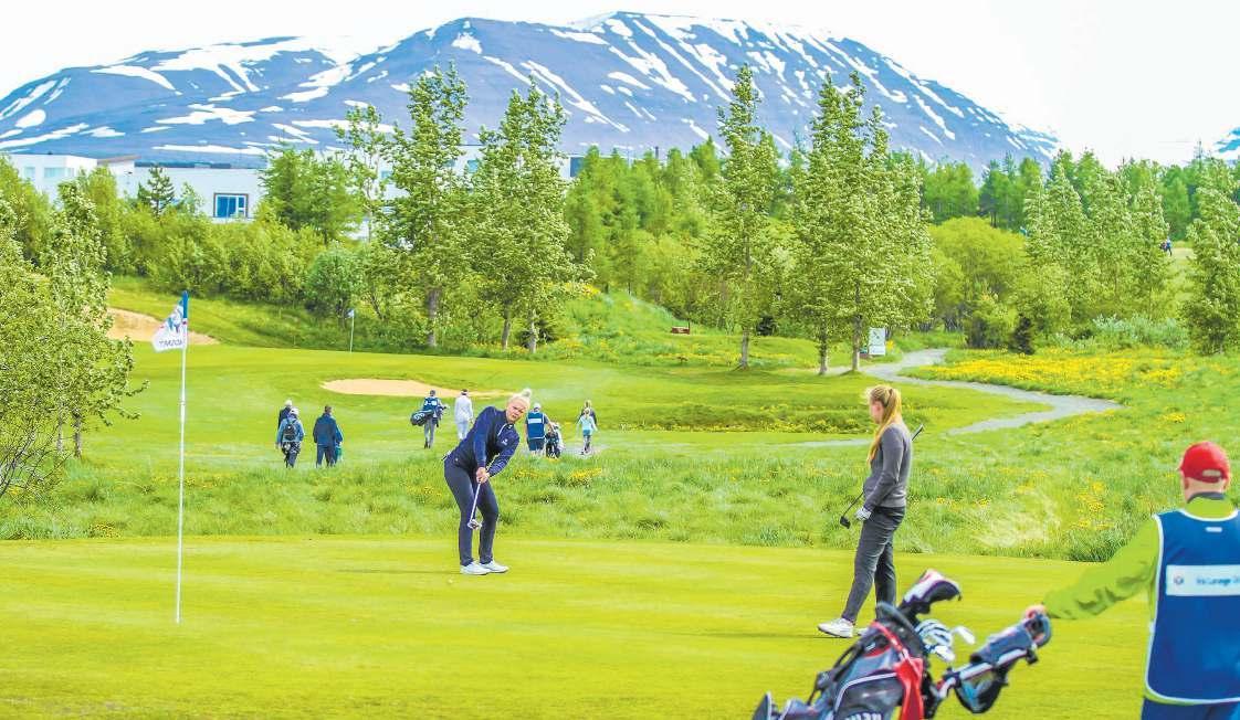 Page 2 of Íslandsmót í golfi haldið á Akureyri í 18. skipti