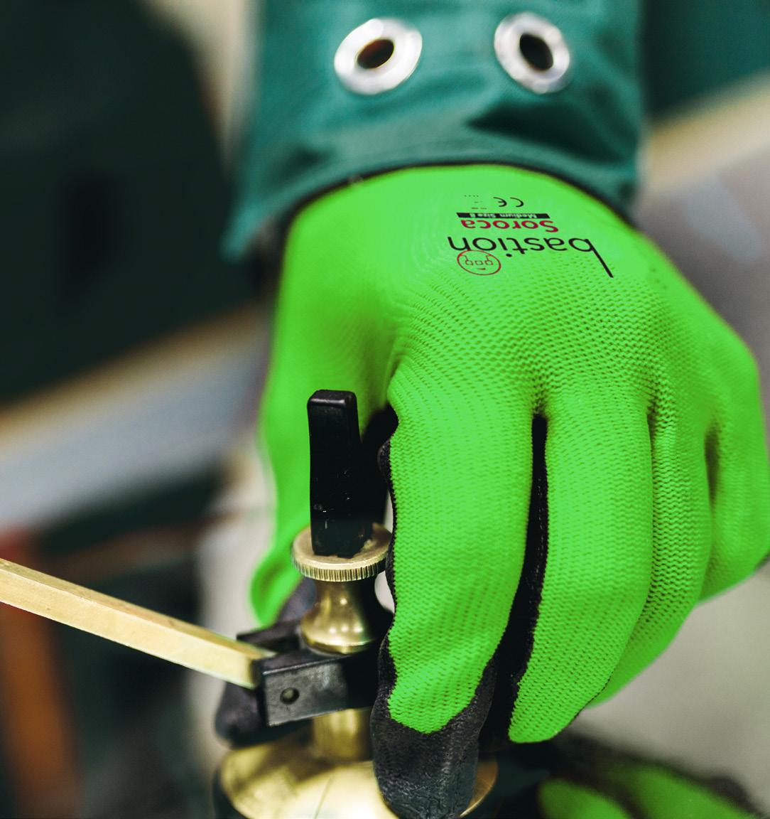 Page 22 of Bastion NZ launch Industrial glove range