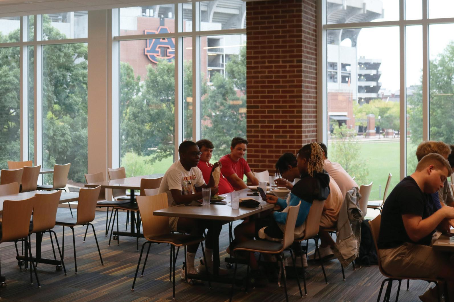 Page 25 of New dining hall