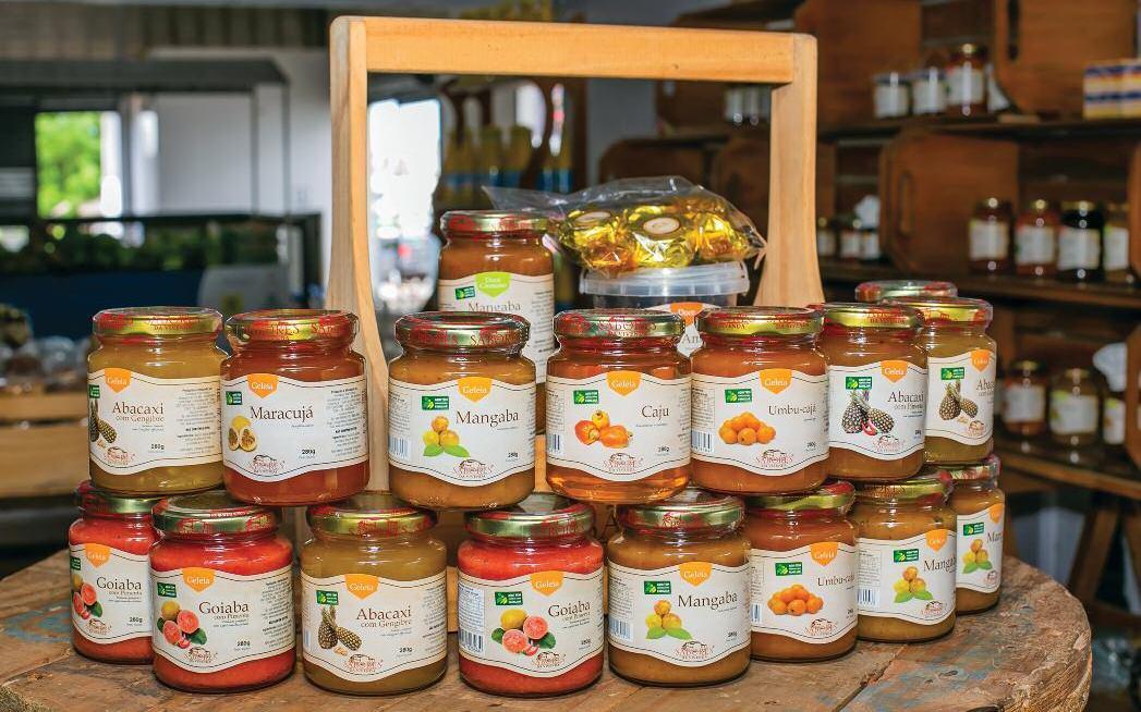 Page 26 of Sabores da Vivenda traz frutas regionais em doces e geleias