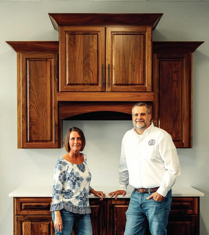 Page 8 of American Cabinets and Closets: Experts in Custom Cabinetry and in Building Up a Community