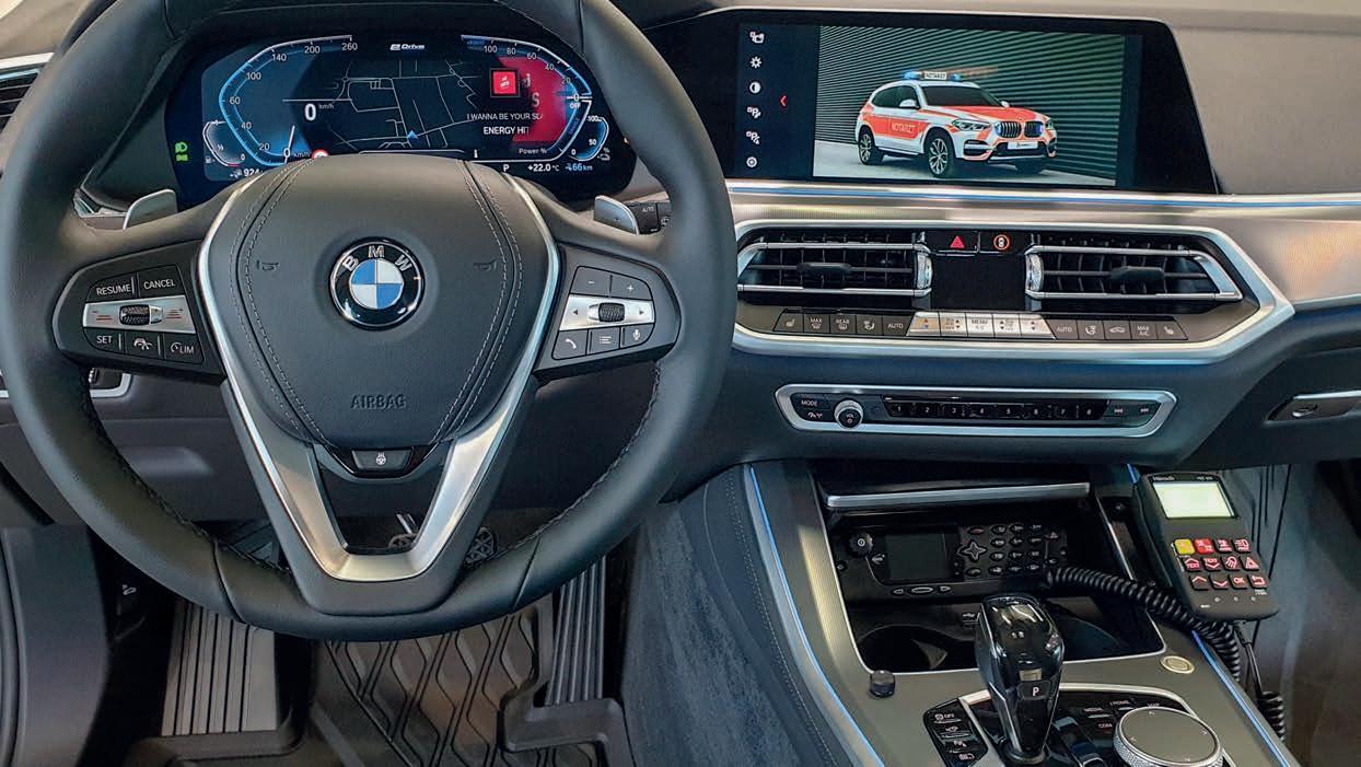 Page 26 of » Haberl Electronic GmbH & Co. KG nouveautés dédiées aux services d'urgence circulant avec des véhicules de BMW