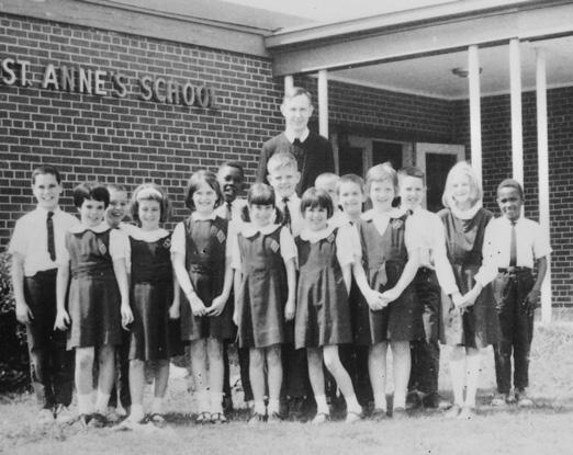 """Page 6 of THE HISTORY OF ST. ANNE CATHOLIC SCHOOL: """"Ignited by Faith, United in Learning"""""""