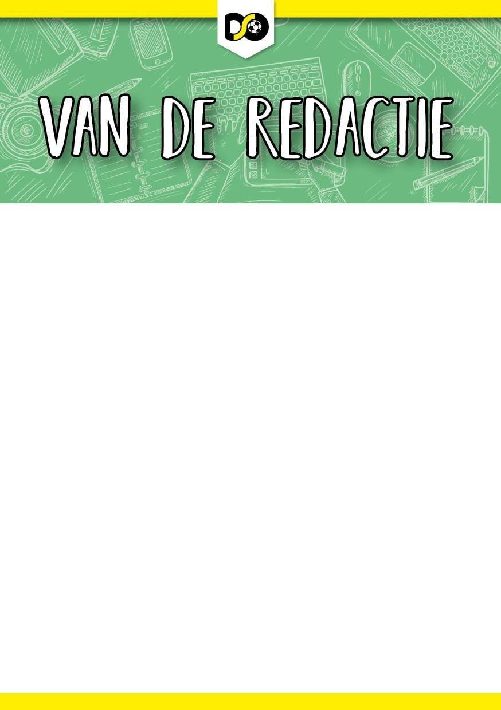 Page 2 of VAN DE REDACTIE