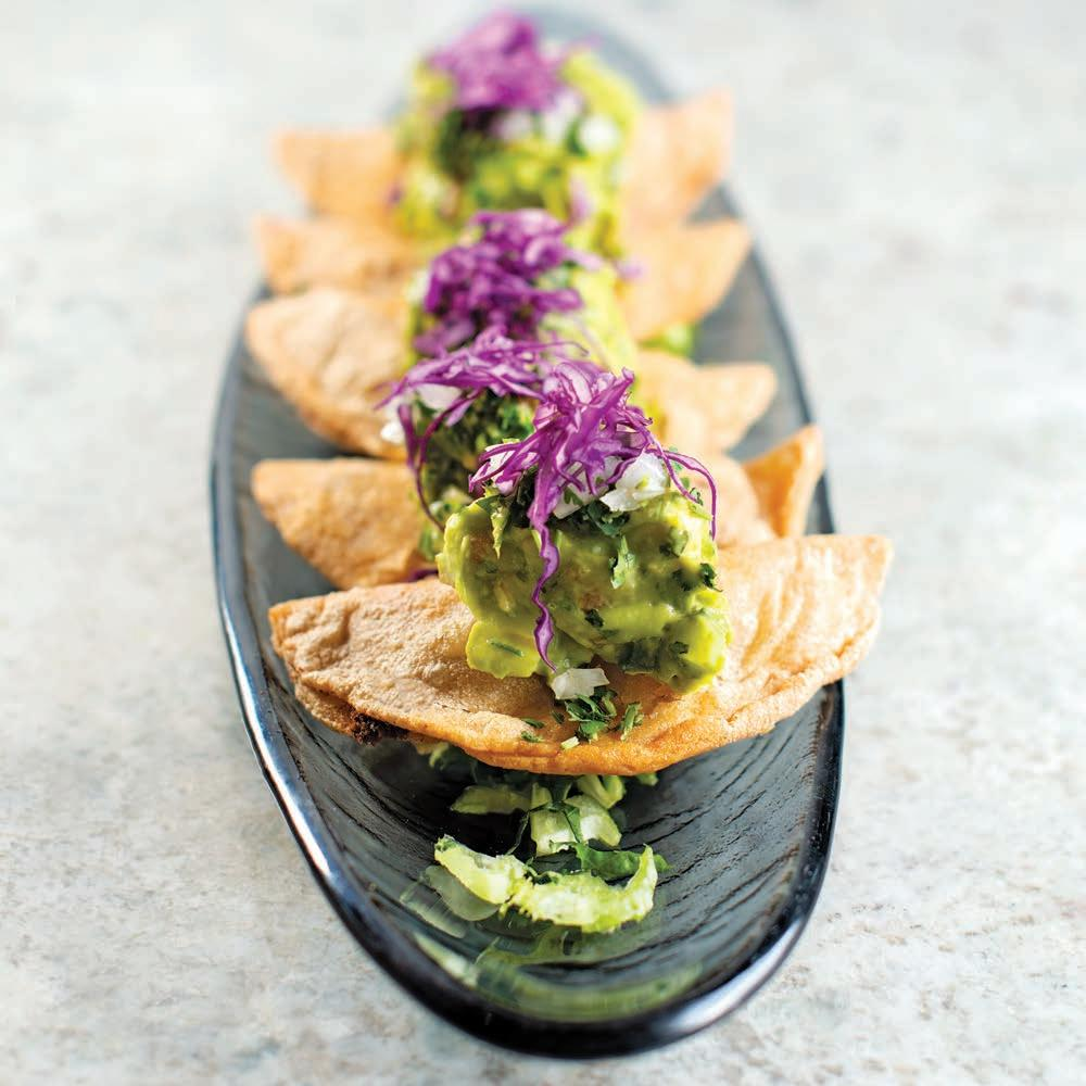 Page 46 of FOOD & DRINK Top-notch execution and a gorgeous se ing wow at Caló Kitchen + Tequila in Laguna Niguel.