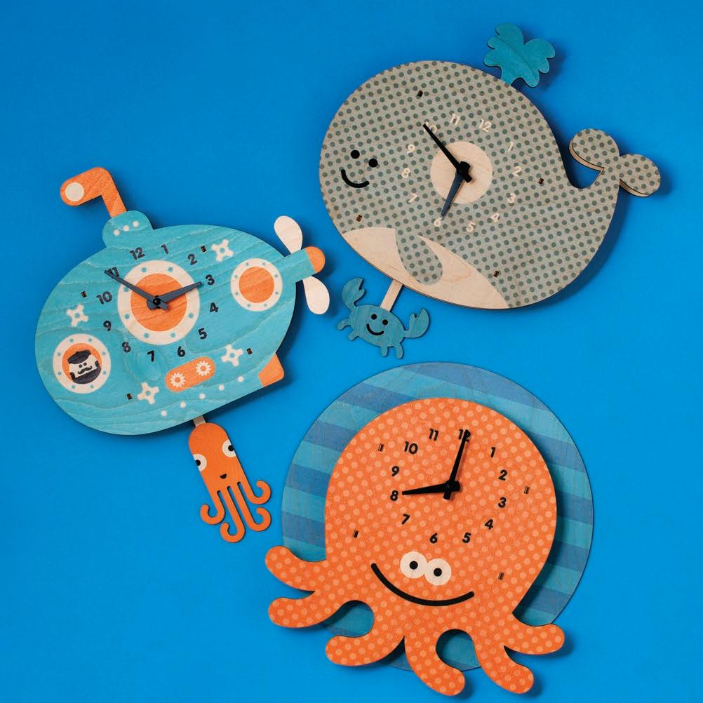 Page 35 of STYLE & HOME Eco-friendly, aquatic themed clocks at Anthill shopNplay