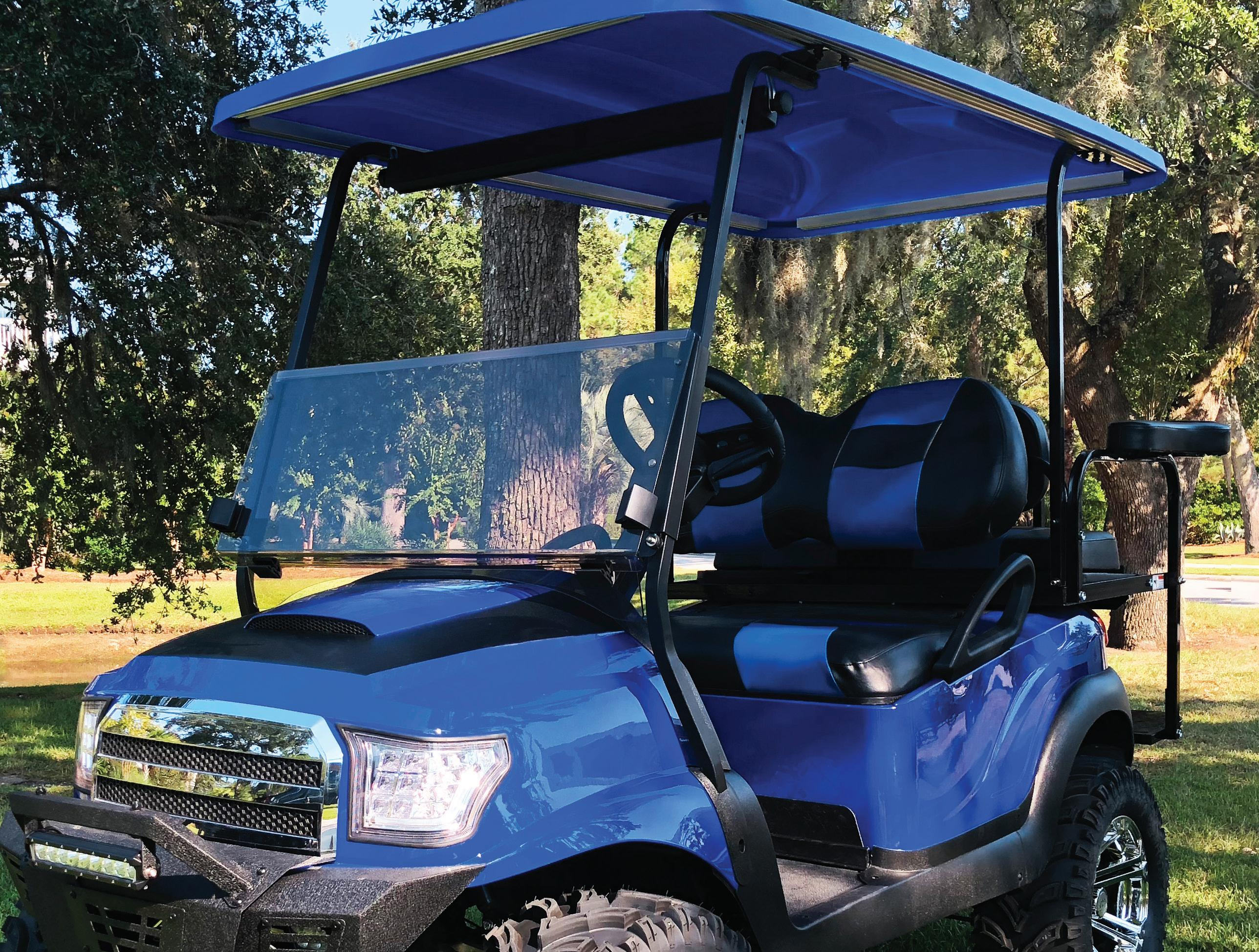 Page 36 of Golf Carting's GUIDE TO WINDSHIELDS