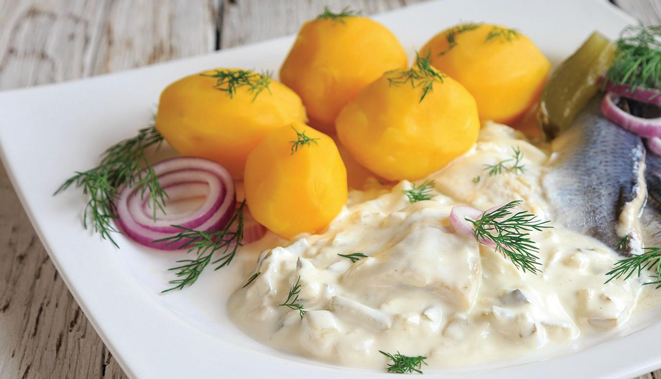 Page 40 of Cousin Belles Pickled Herring in Sour Cream