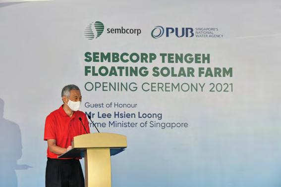 Page 14 of The Sembcorp Tengeh Floating Solar Farm officially opens
