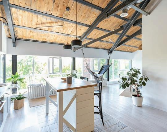 Page 9 of Exposed beams and pipes: tips to hide or highlight them
